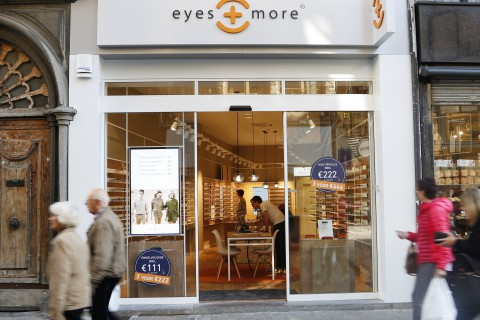 Eyes + More - Korte Gasthuisstraat - Antwerpen - Retail Point