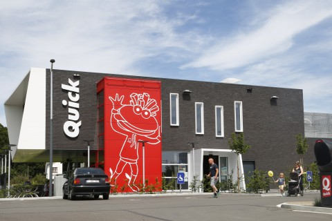 Quick - 3 Clés - Gembloux -Retail Point