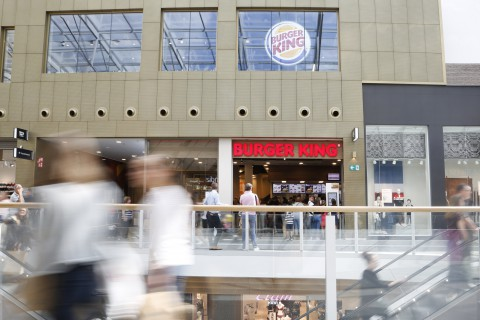 Burger King - Charleroi Rive Gauche - Retail Point