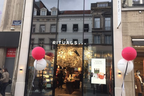 Rituals - Avenue Louise - Brussel -  Retail Point