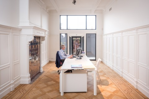Our offices at Graanmarkt 7, Antwerp